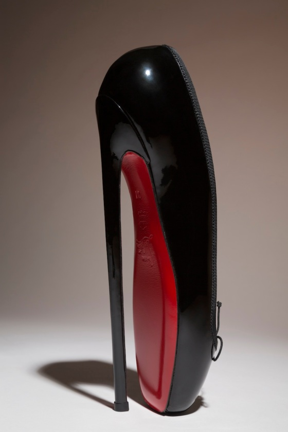 Christian Louboutin Fetish Ballerine, 2007. Courtesy Christian Louboutin.