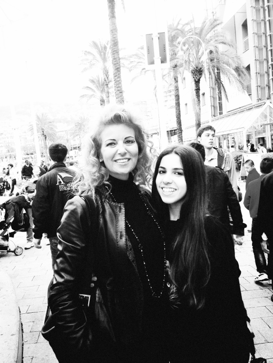 martina montanari and mom genoa