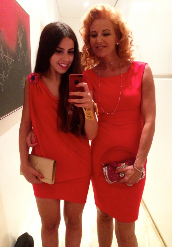 martina montanari and mother ex supermodel guendalina giovannucci